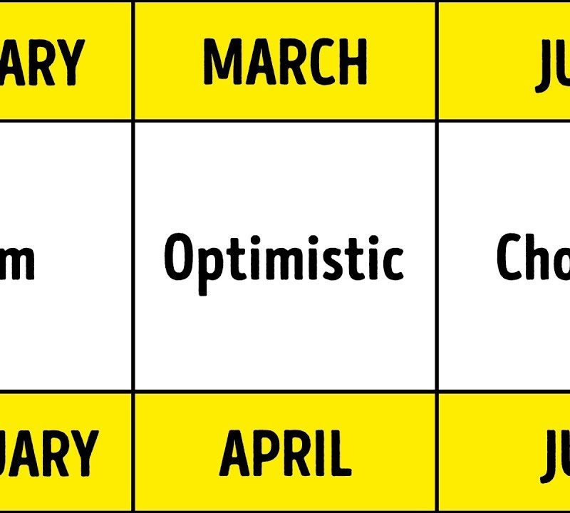 About what month says you birth your What Does